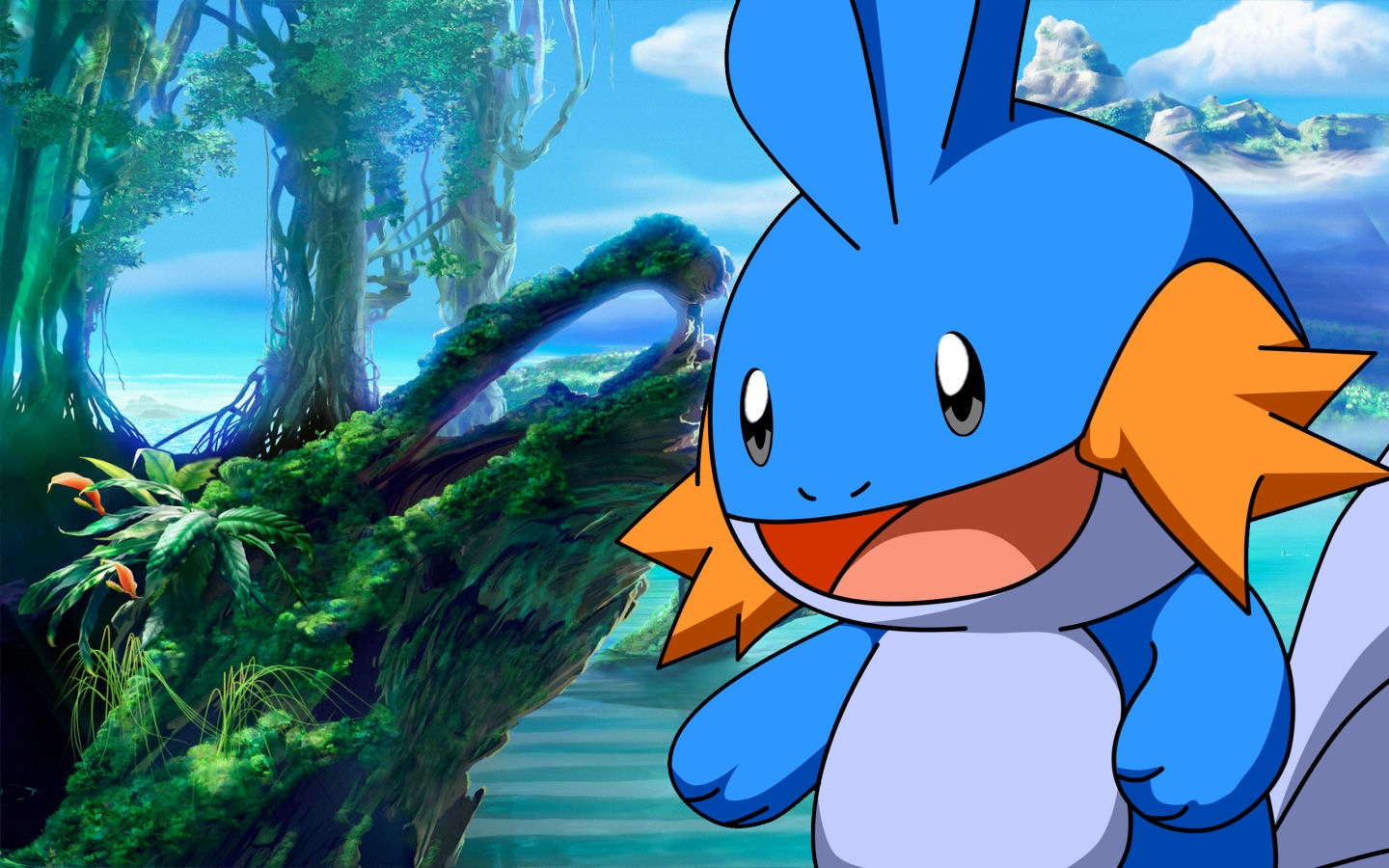 257887 Kb Download Original Mudkip Wallpaper Fond D écran