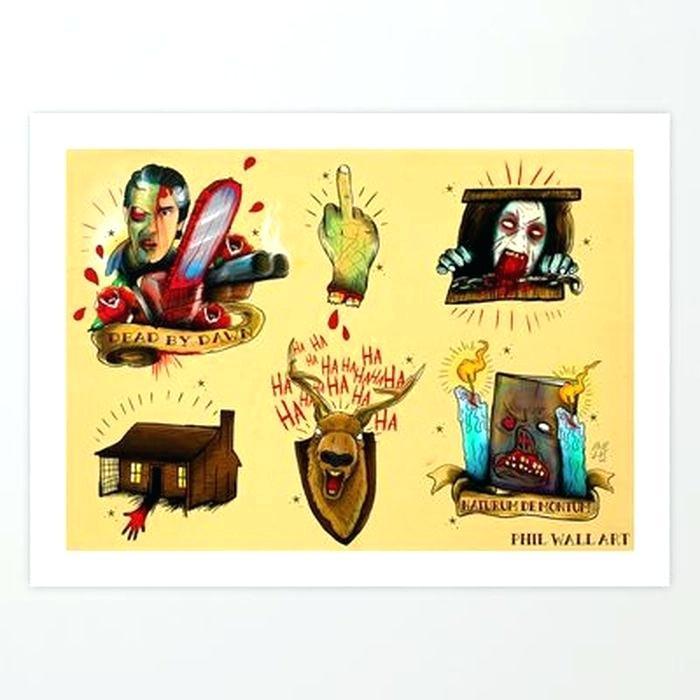 Demons Pop Culture Tattoo Flash 1512687 Hd Wallpaper