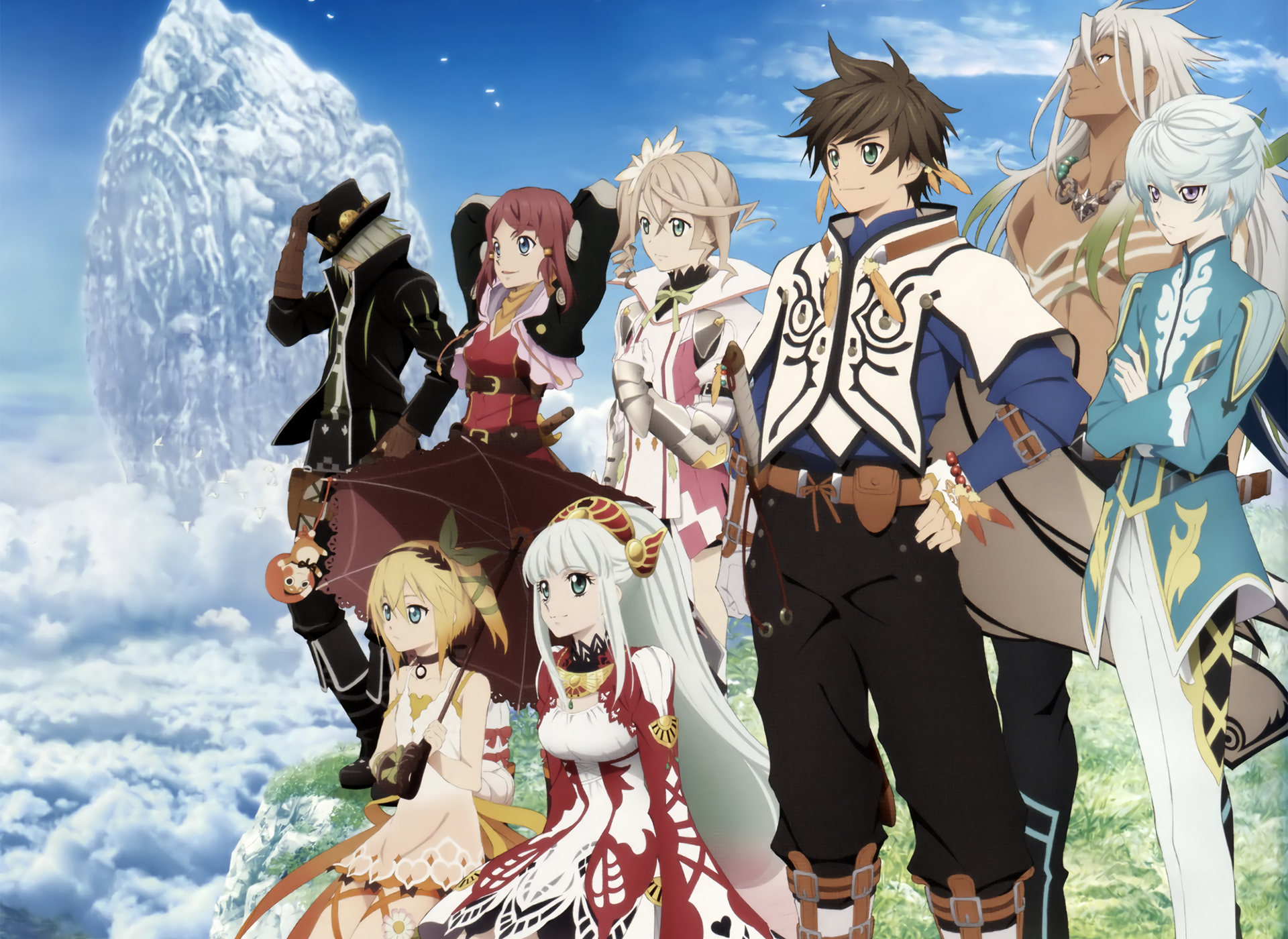 Tales Of Zestiria The X, Tv Series - Tales Of Zestiria The X 2016 , HD Wallpaper & Backgrounds