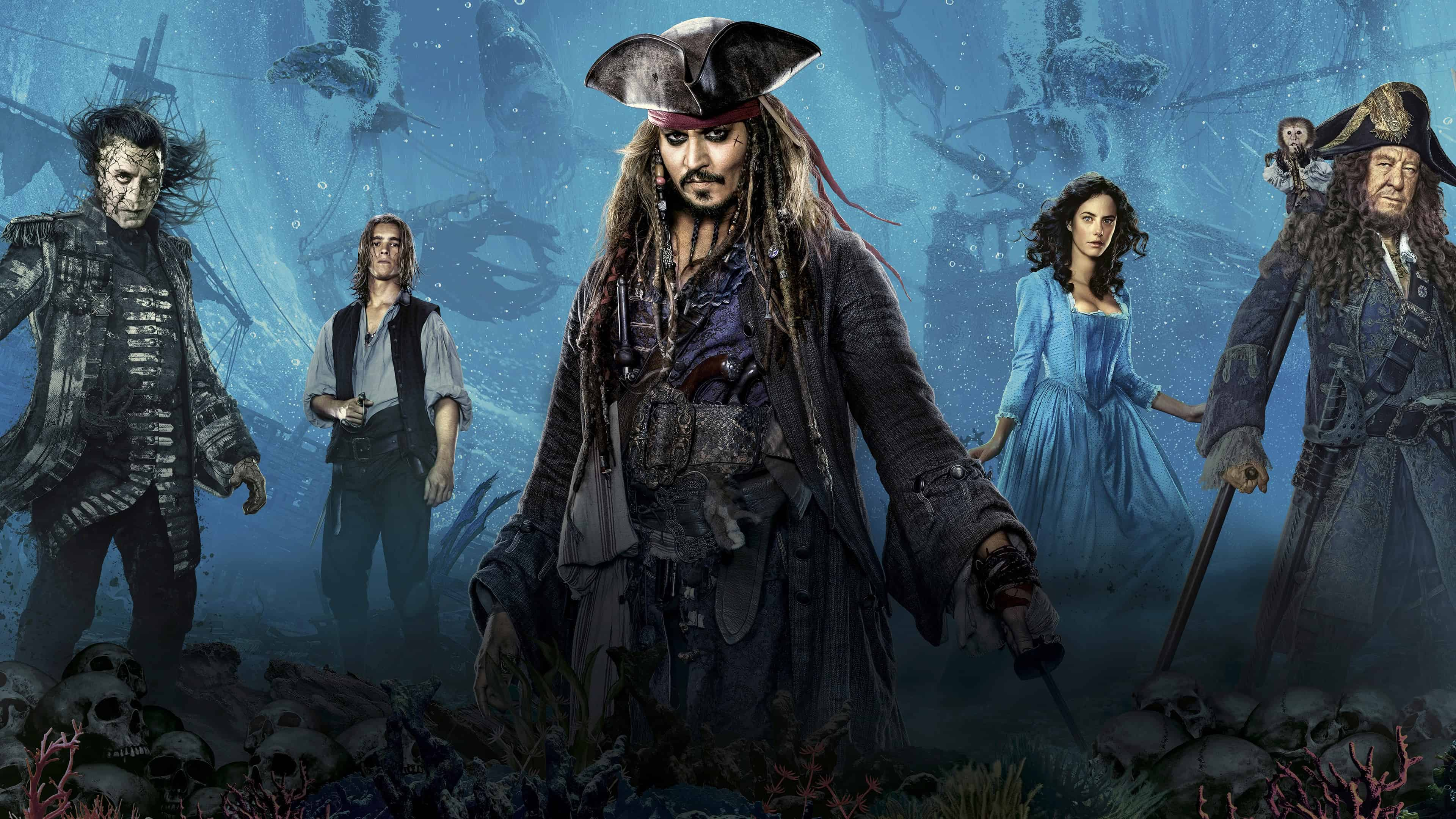 View Pirates Of The Caribbean 4K Hd Wallpapers Gif