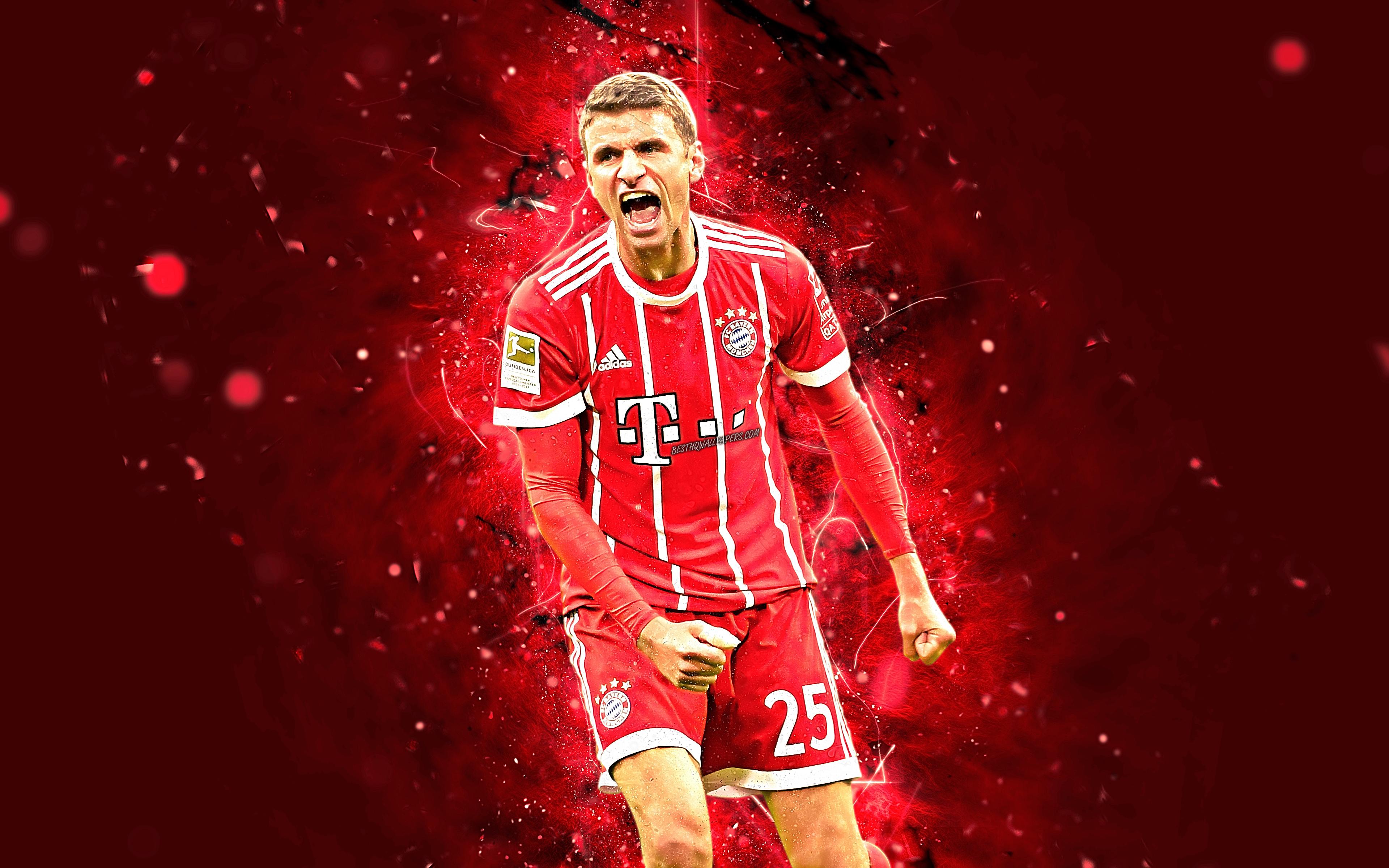 4k Thomas Muller Abstract Art Football Stars Bayern Joao Felix Wallpaper 4k 1519978 Hd Wallpaper Backgrounds Download