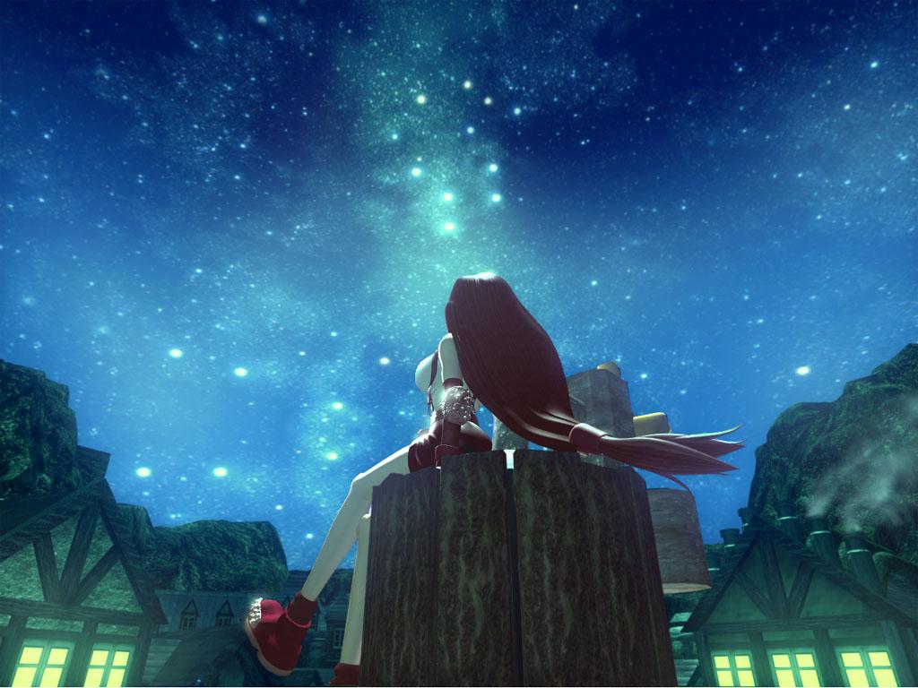 Wallpaper Final Fantasy 7 Stars 1521110 Hd Wallpaper