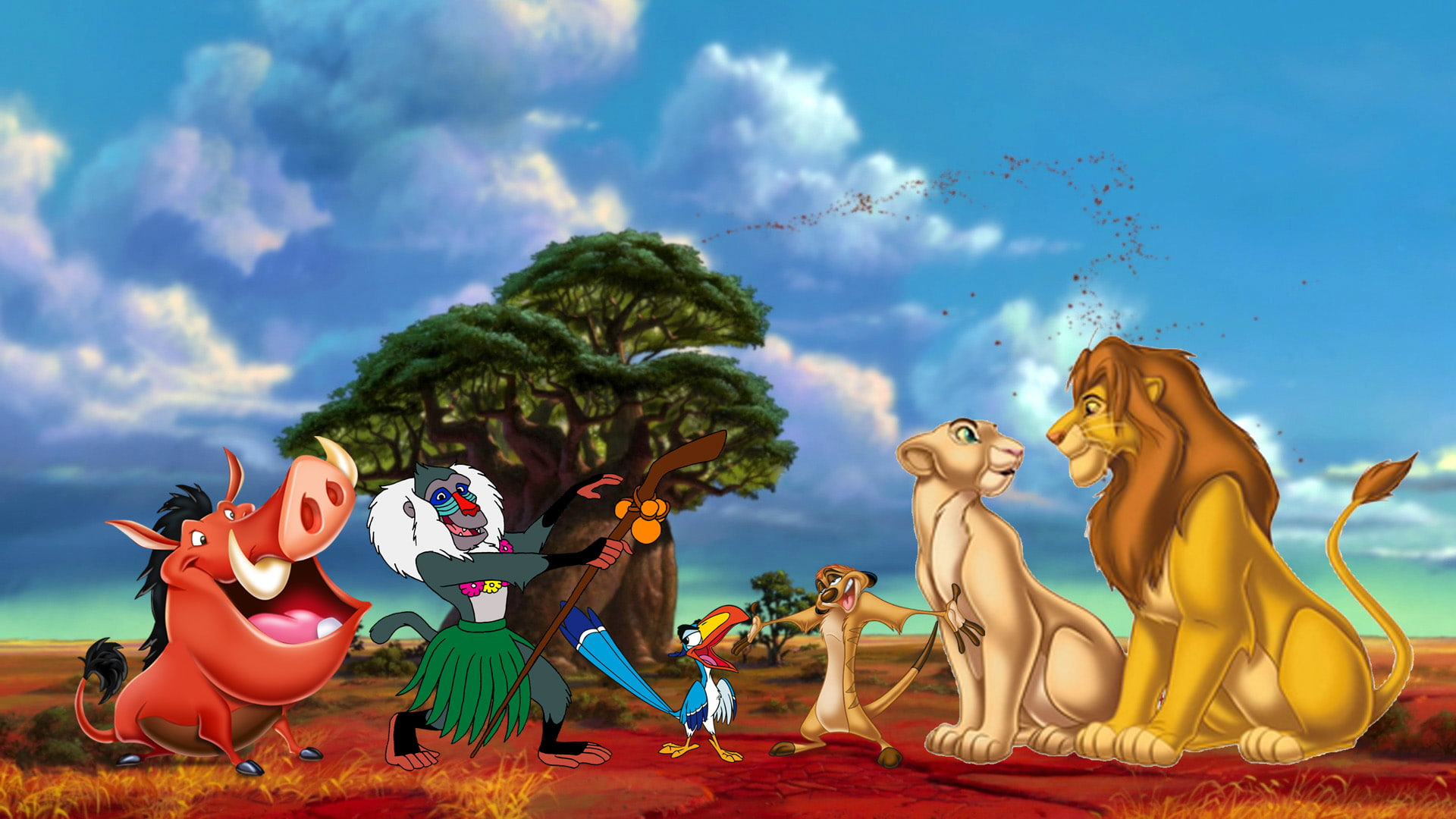 The Lion King Rafiki Friend Of Mufase He Presented - Lion King Toys 2019 , HD Wallpaper & Backgrounds