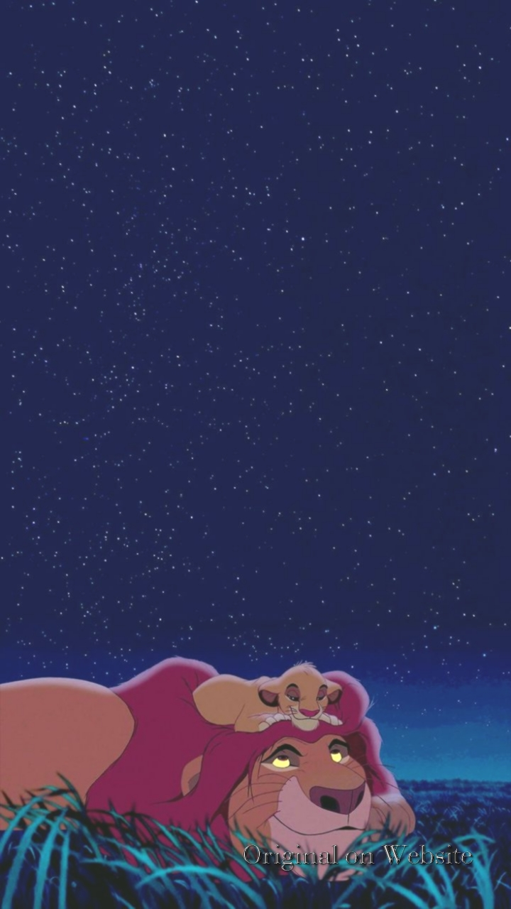 Iphone Wallpaper Disney Characters- The Lion King Background - Cartoon , HD Wallpaper & Backgrounds