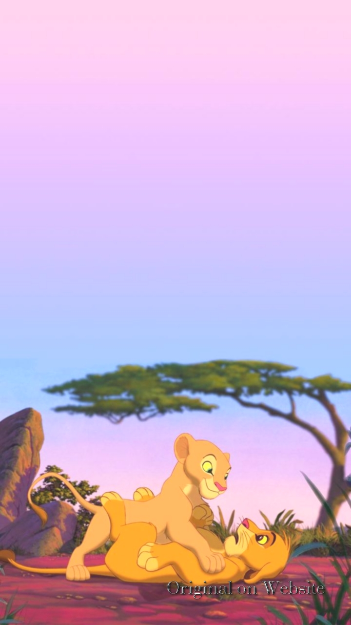 Iphone Wallpaper Disney Characters- The Lion King Background - Iphone Lion King Background Hd , HD Wallpaper & Backgrounds