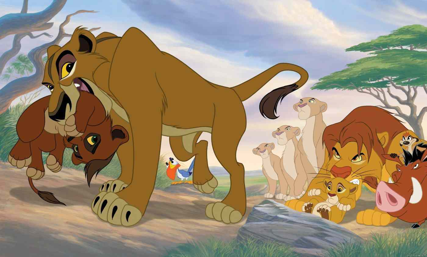 The Lion King 2 Pictures Wallpaper - Lion King 2 Simba's Pride , HD Wallpaper & Backgrounds