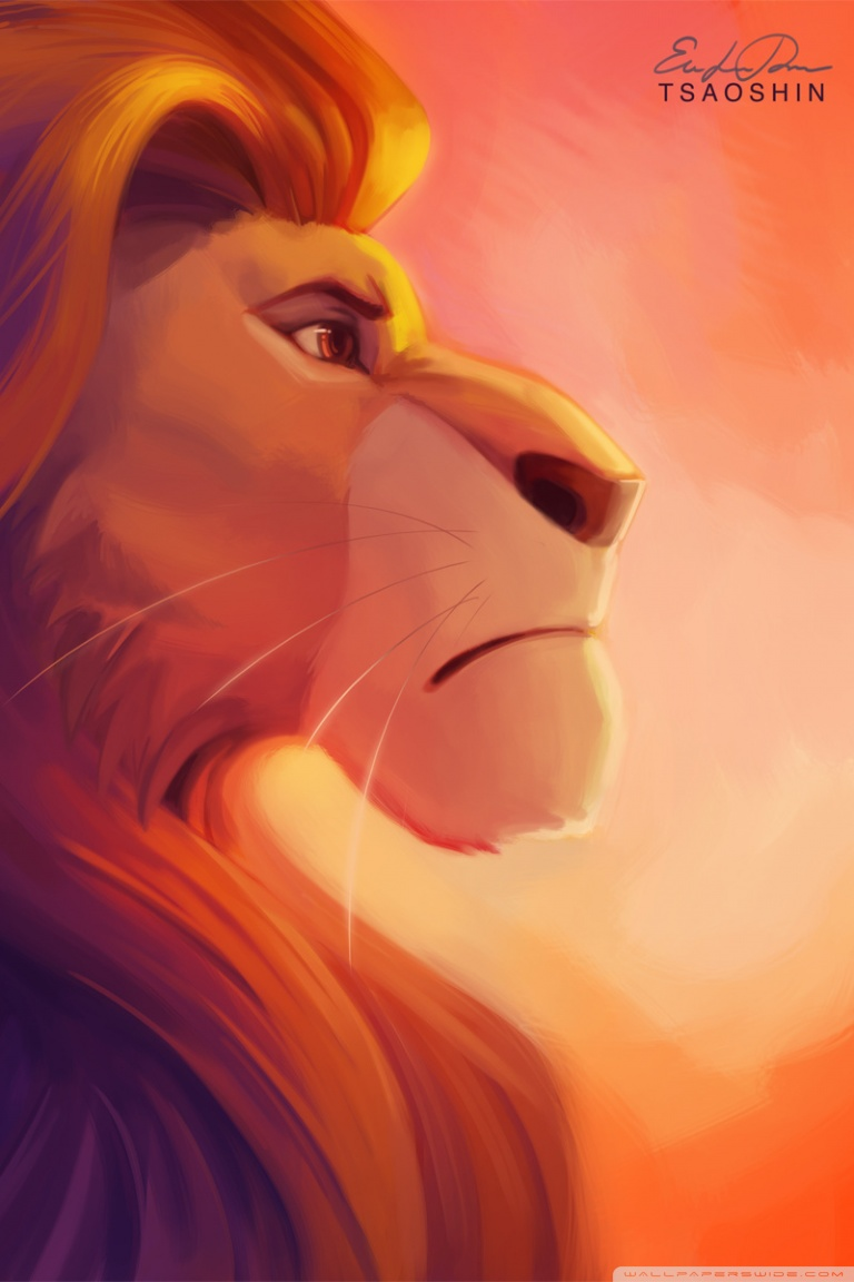 Lion King Wallpaper - Lion King Iphone 7 , HD Wallpaper & Backgrounds