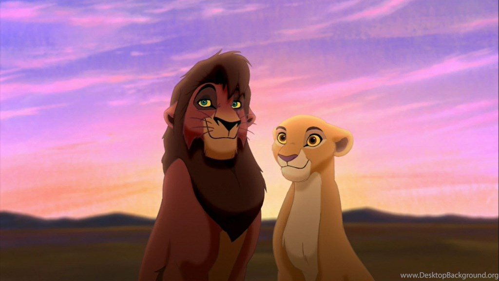 Kovu And Kiara Hd Wallpapers The Lion King Wallpapers - Lion King Kiara And Kovu , HD Wallpaper & Backgrounds