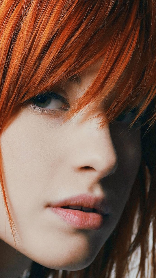 Wallpaper Hayley Williams Actress Singer Face Redhead