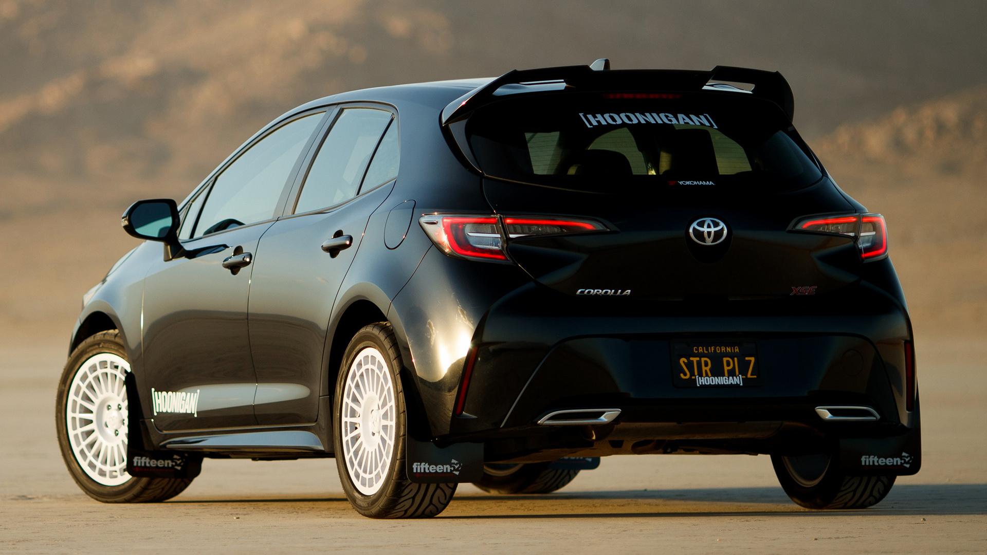 2018 Toyota Corolla Hoonigan - Toyota Corolla Tuning 2019 , HD Wallpaper & Backgrounds