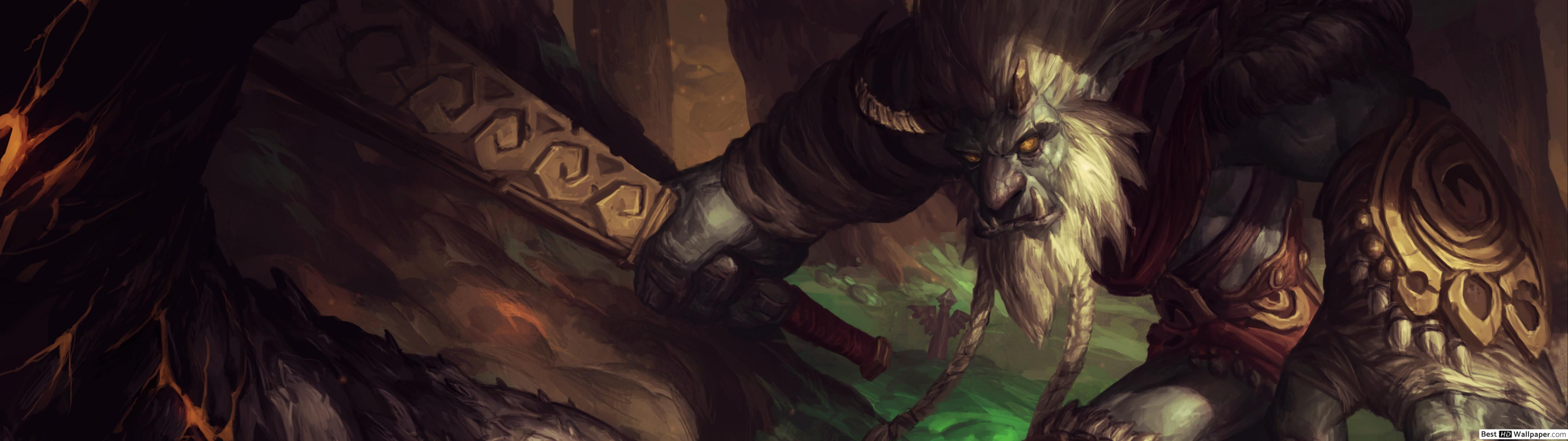 Dual League Of Legends Trundle 1525387 Hd Wallpaper