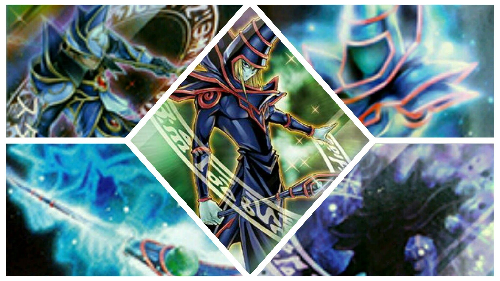 Yu Gi Oh Dark Magician Full Hq Wallpapers Free Download