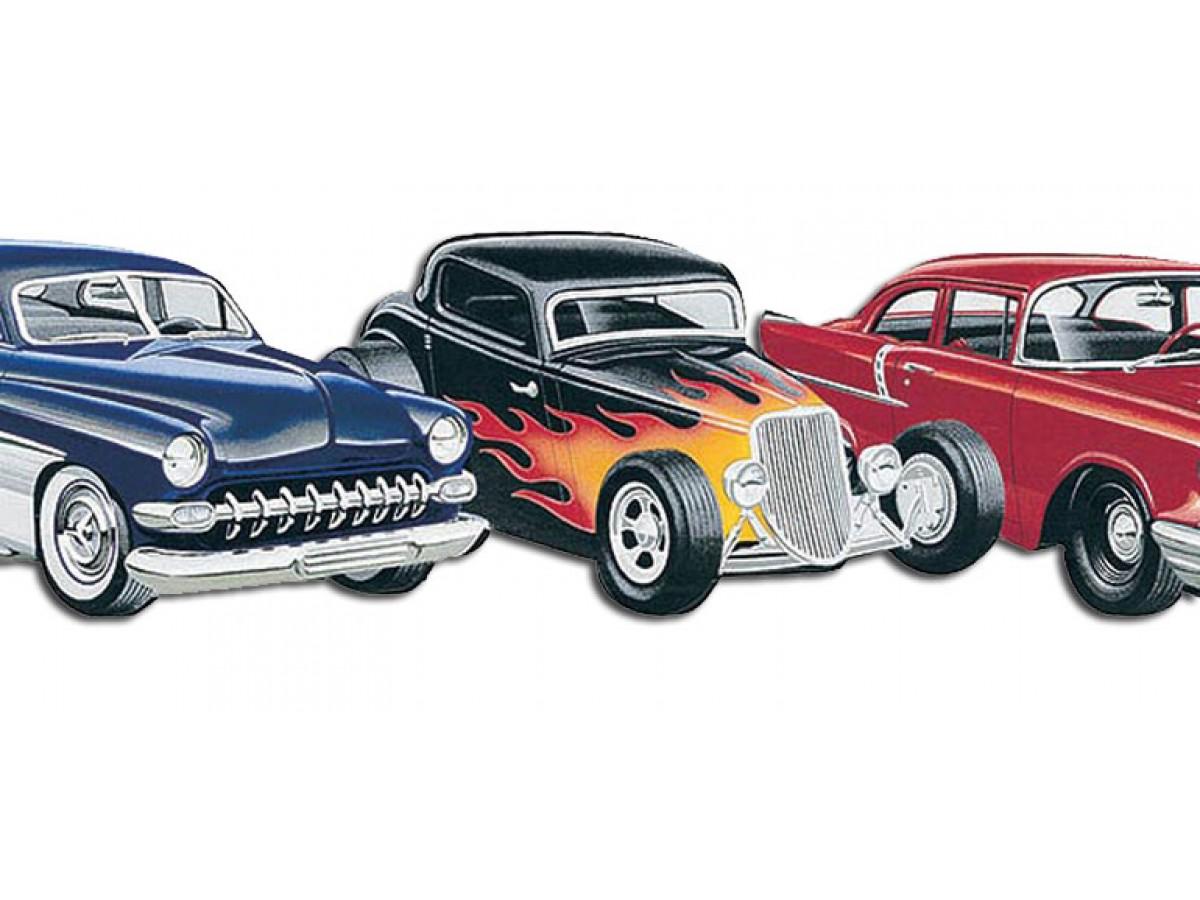 Cars Wallpaper Borders - Border Design Classic Car Border , HD Wallpaper & Backgrounds