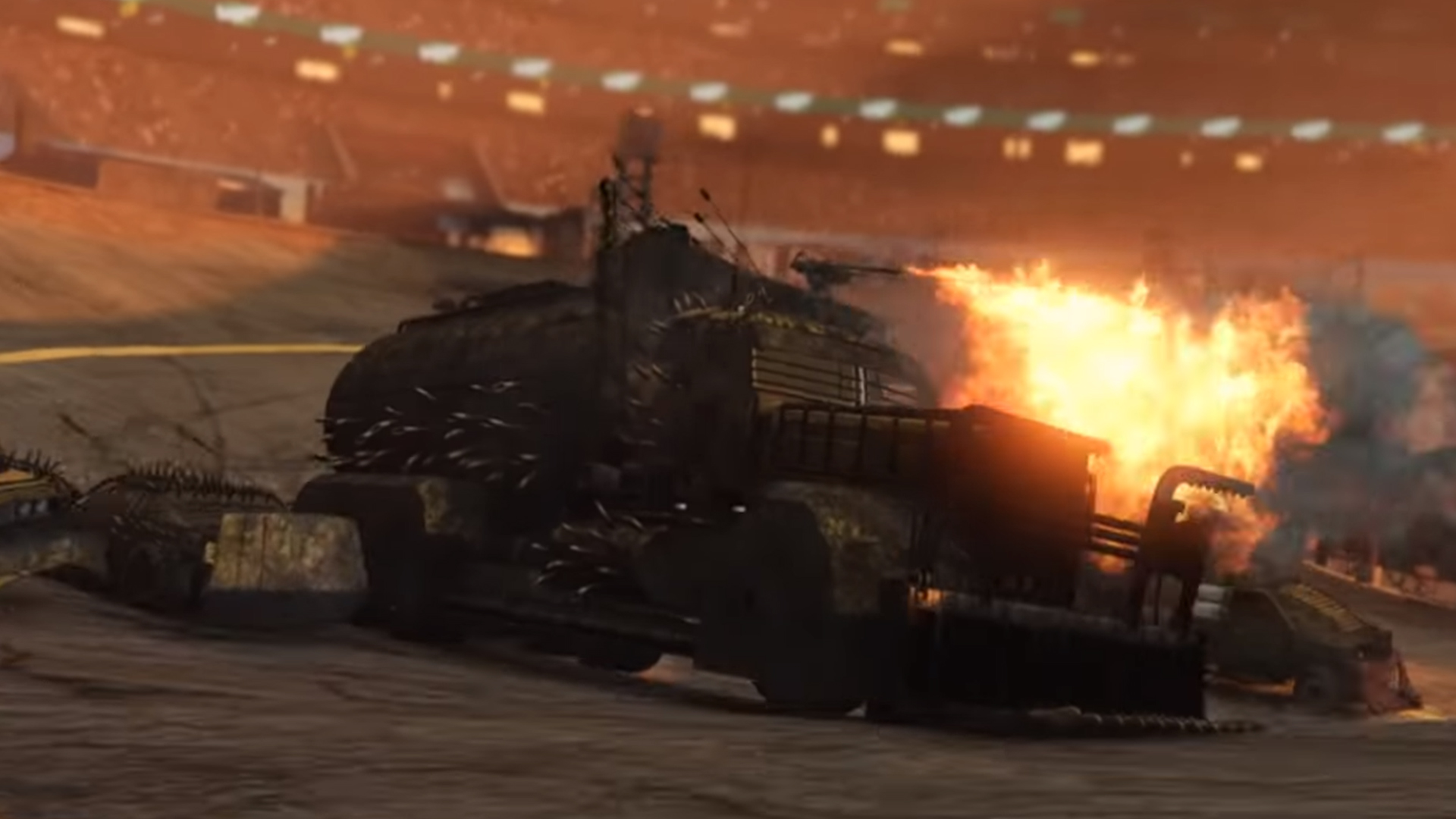 Arena War Turns Gta Online Into Twisted Metal - Gta V Arena Wars Vehicles , HD Wallpaper & Backgrounds