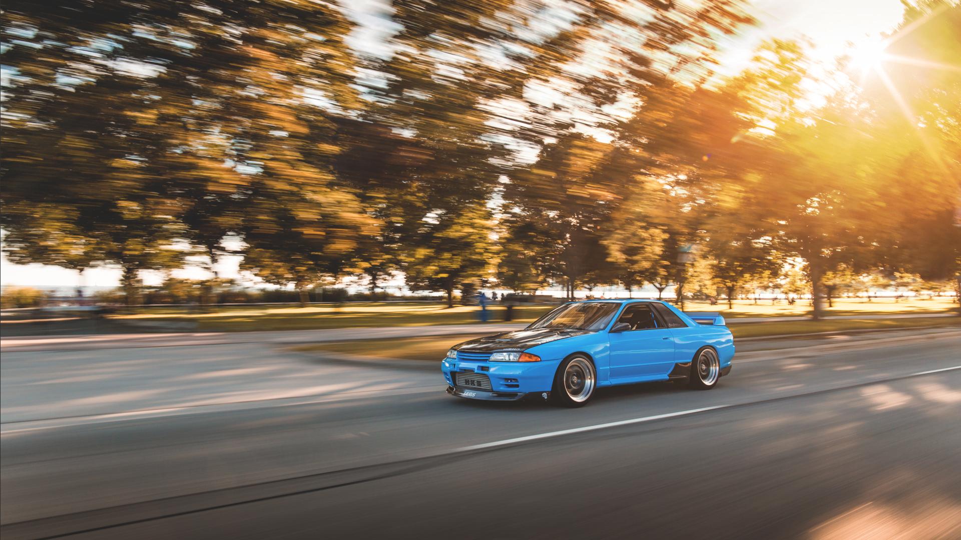 Download Wallpaper Nissan Skyline R32 Gt R Car 1533648