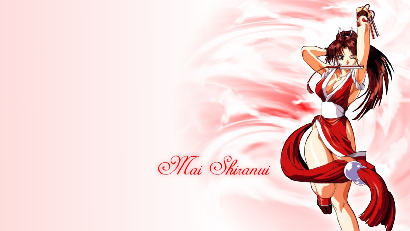 Mai Shiranui Wallpapers King Of Fighters Mai Shiranui Hd
