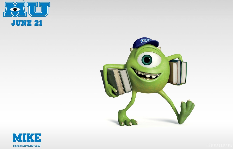Photo Wallpaper Pixar, Mike Monster, Monster University, - Monster University 2 Characters , HD Wallpaper & Backgrounds