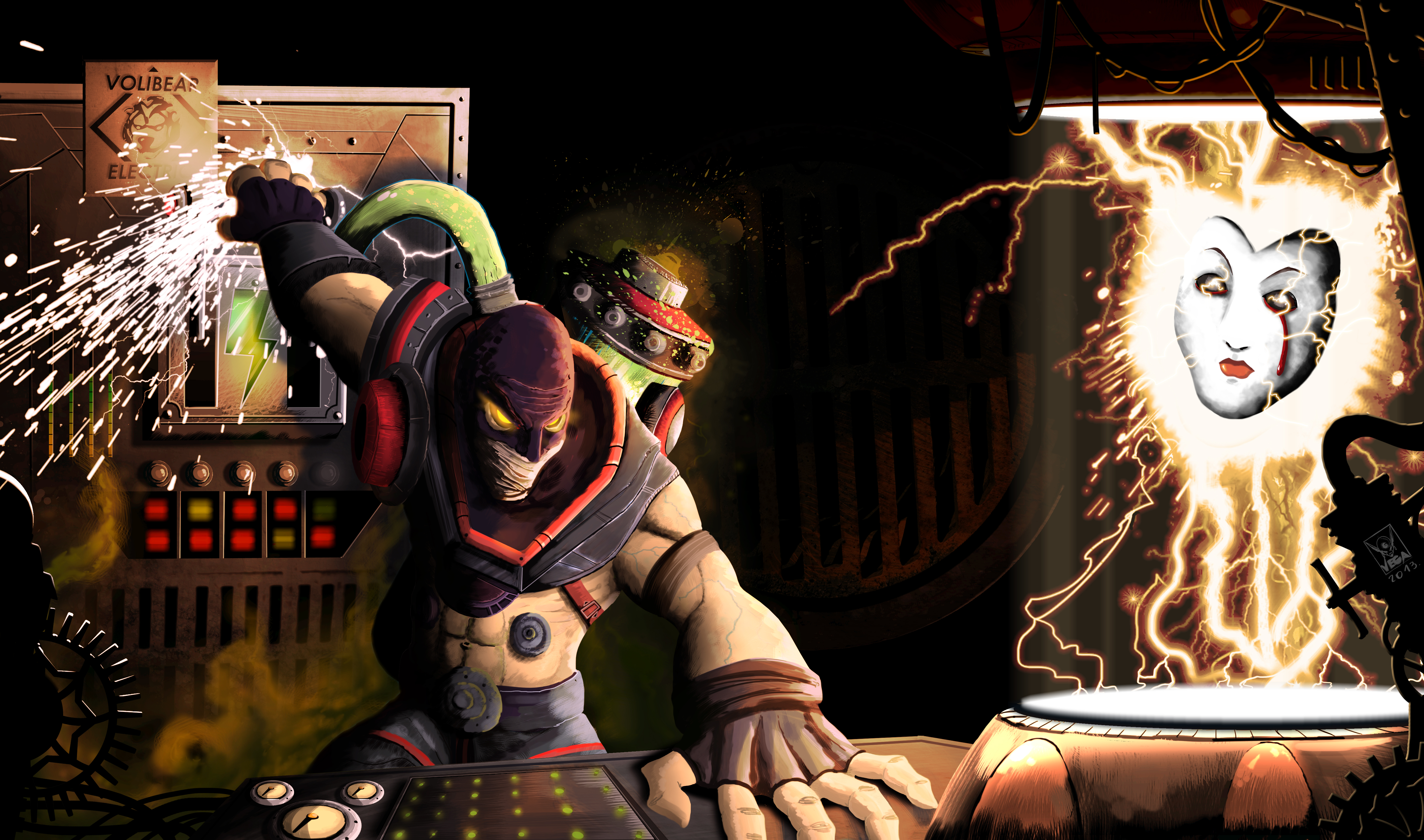 Singed Wallpaper - Lol Animated Wallpaper Singed , HD Wallpaper & Backgrounds