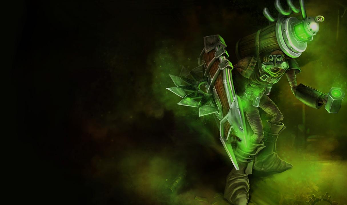 Hextech Singed Skin - Singed League Of Legends , HD Wallpaper & Backgrounds