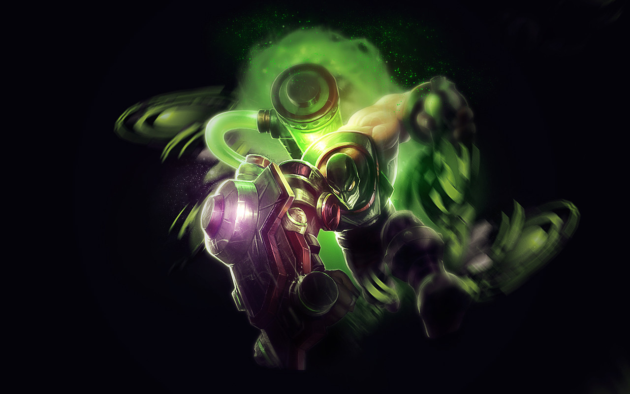 Singed - Singed League Of Legends Skins , HD Wallpaper & Backgrounds