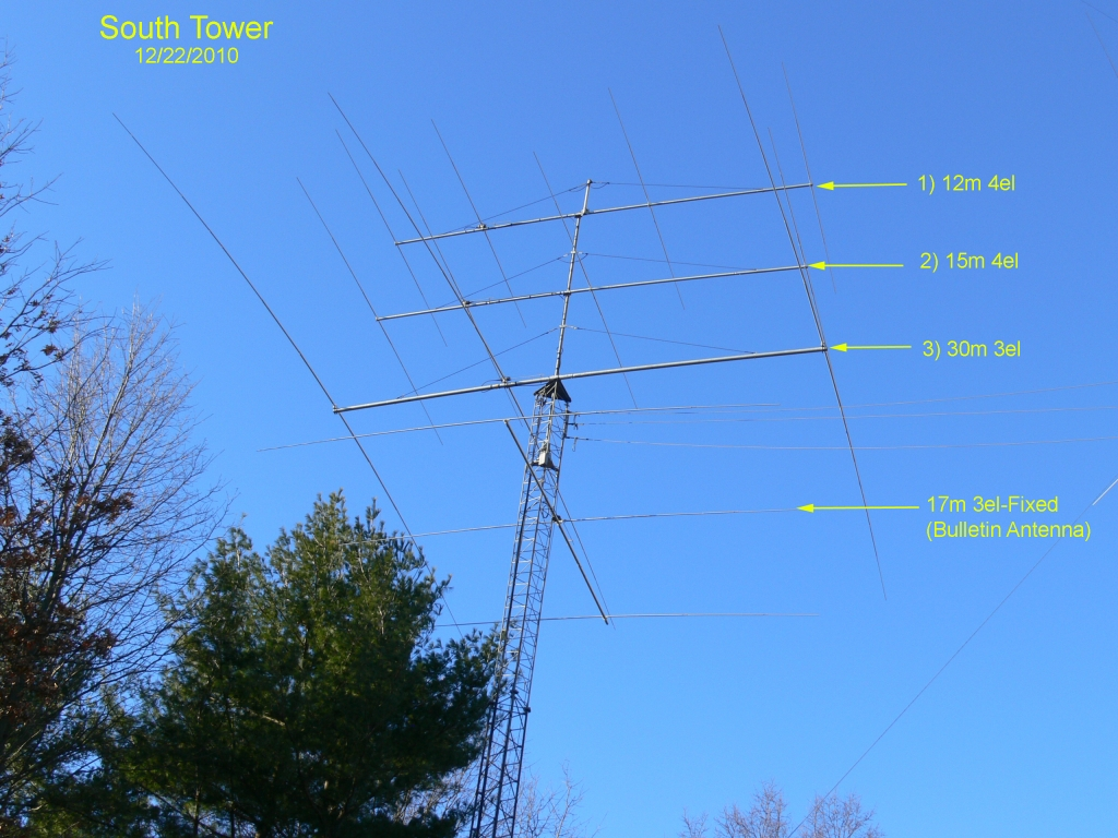 South Tower Ham Radio Antenna Size 1539337 Hd
