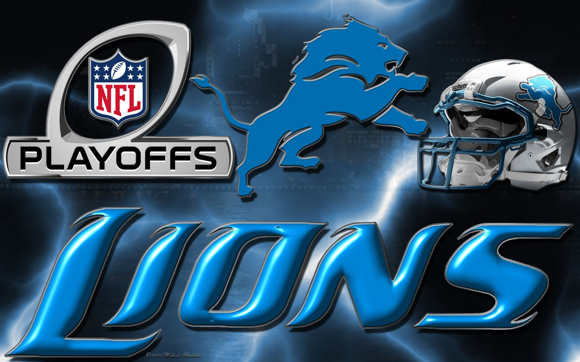Wallpapers By Wicked Shadows - Lions Football , HD Wallpaper & Backgrounds