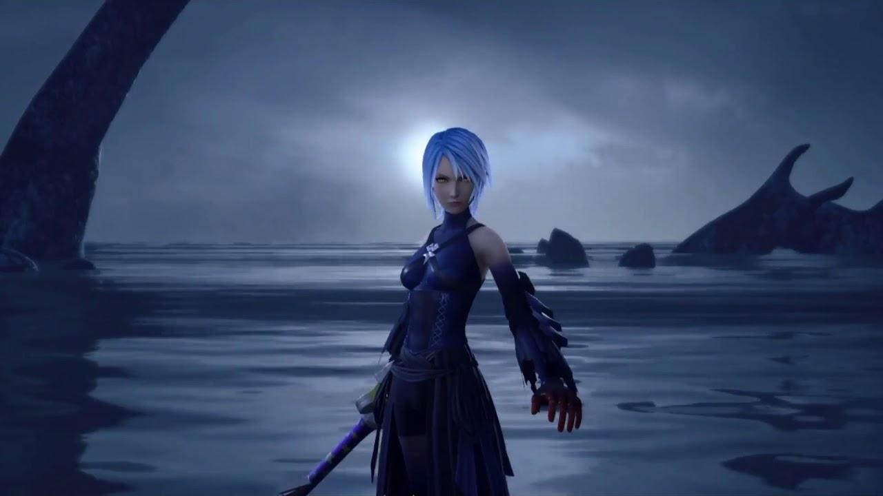 Kingdom Hearts 3 Boss Fight Between Sora Aqua Shown Dark Aqua