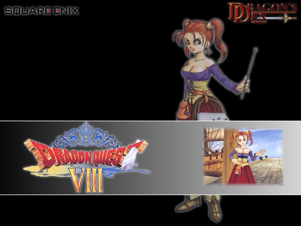 Dragon Quest 8 Jessica Wallpaper Hd 1544023 Hd Wallpaper
