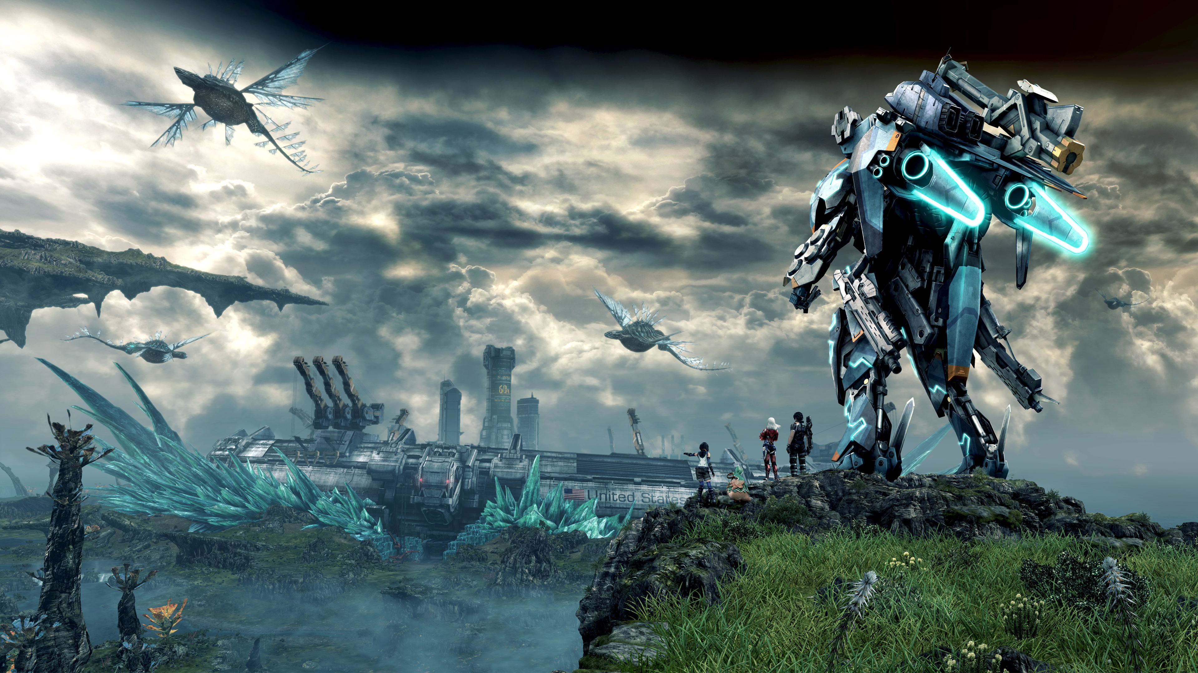 Chronicles Xenoblade Xenoblade Chronicles X Hd 1544366 Hd