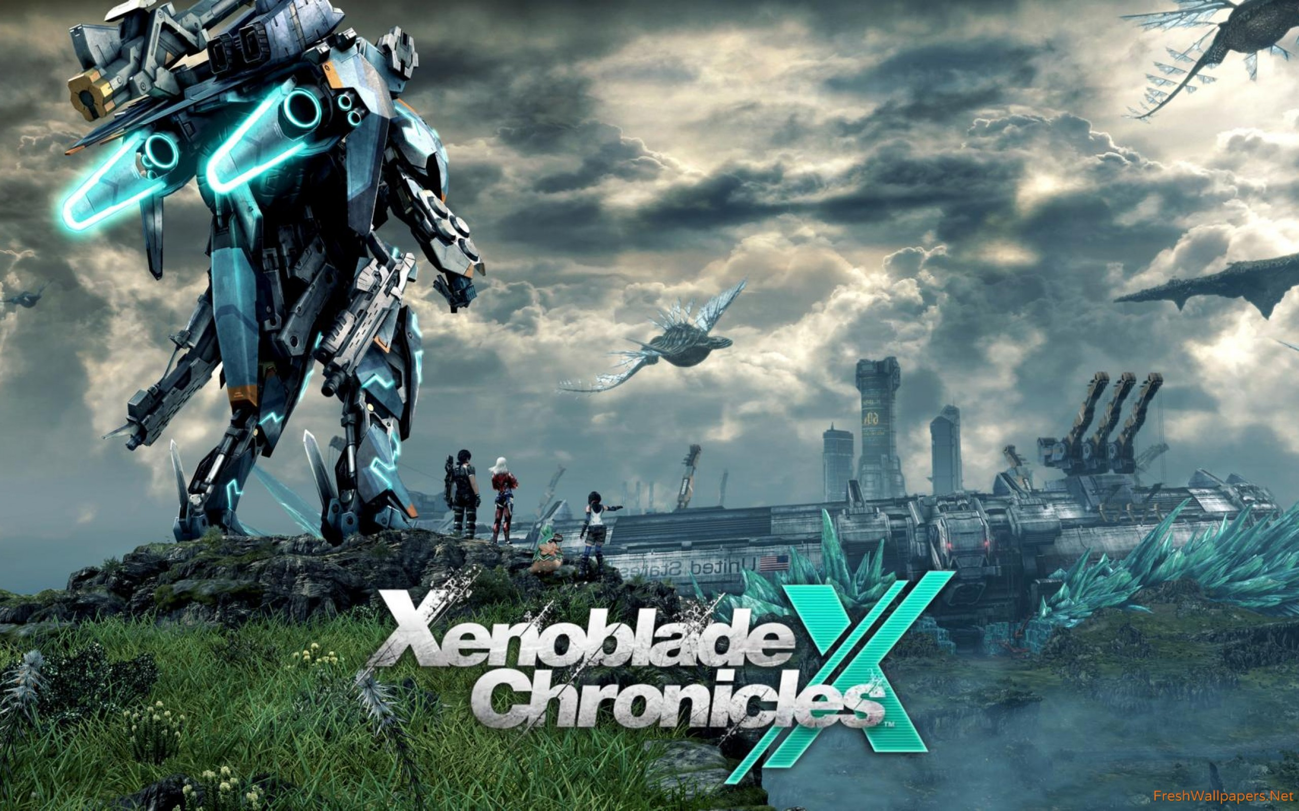 Xenoblade Chronicles X Wallpaper Xenoblade Chronicles X Switch