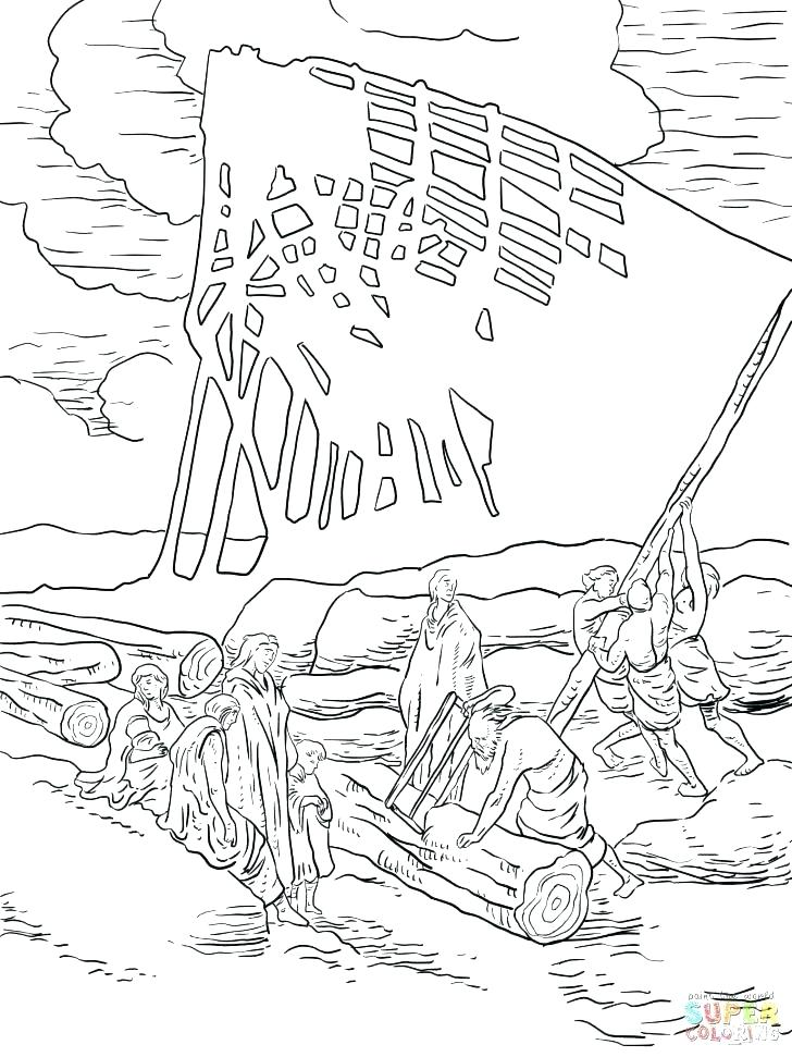 Noah And The Ark Coloring Page Ark Coloring Page Ark Noah