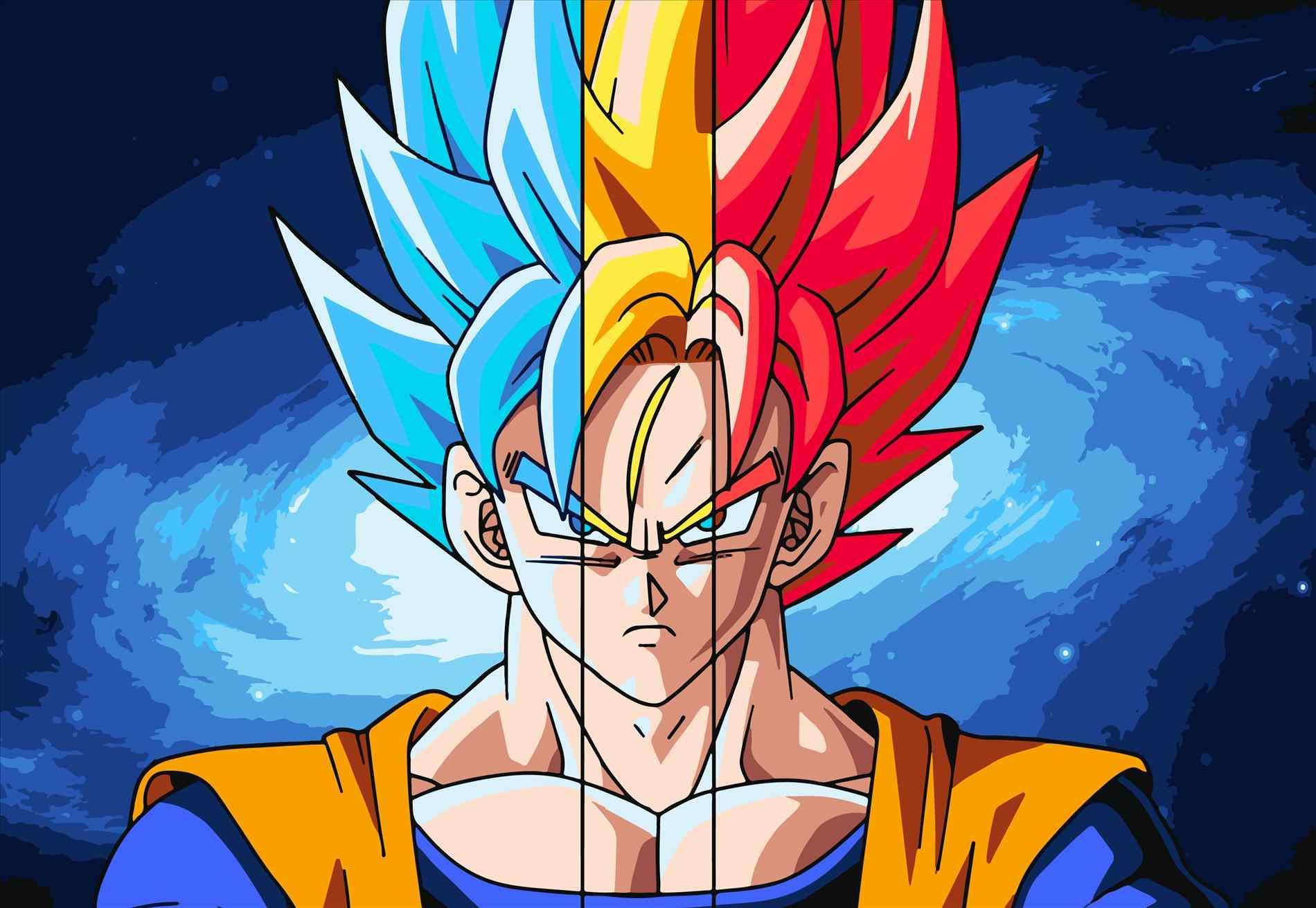 Krillin Wallpaper Goku Super Saiyan Hd 1545304 Hd
