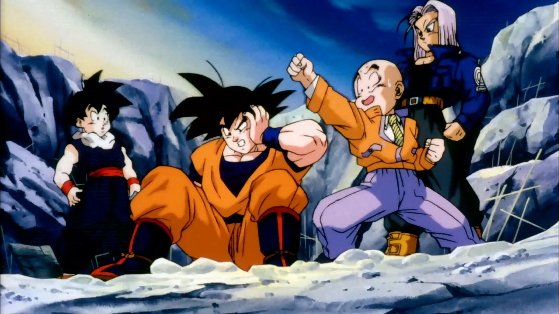 Dragon Ball Gt Krillin The And Everything Place Of Dragon Ball Z