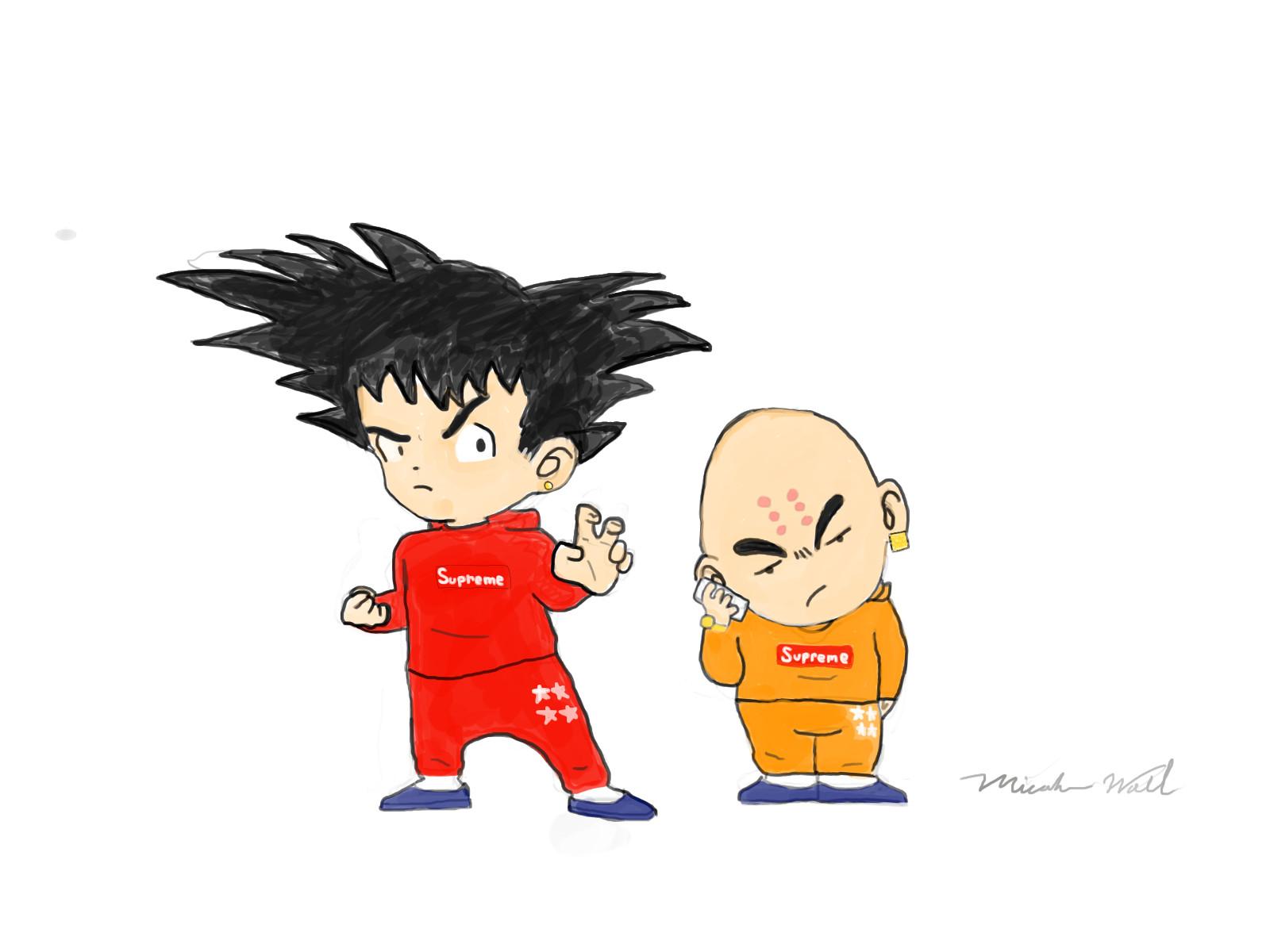 Goku X Krillin Goku And Krillin Supreme 1545516 Hd Wallpaper Backgrounds Download