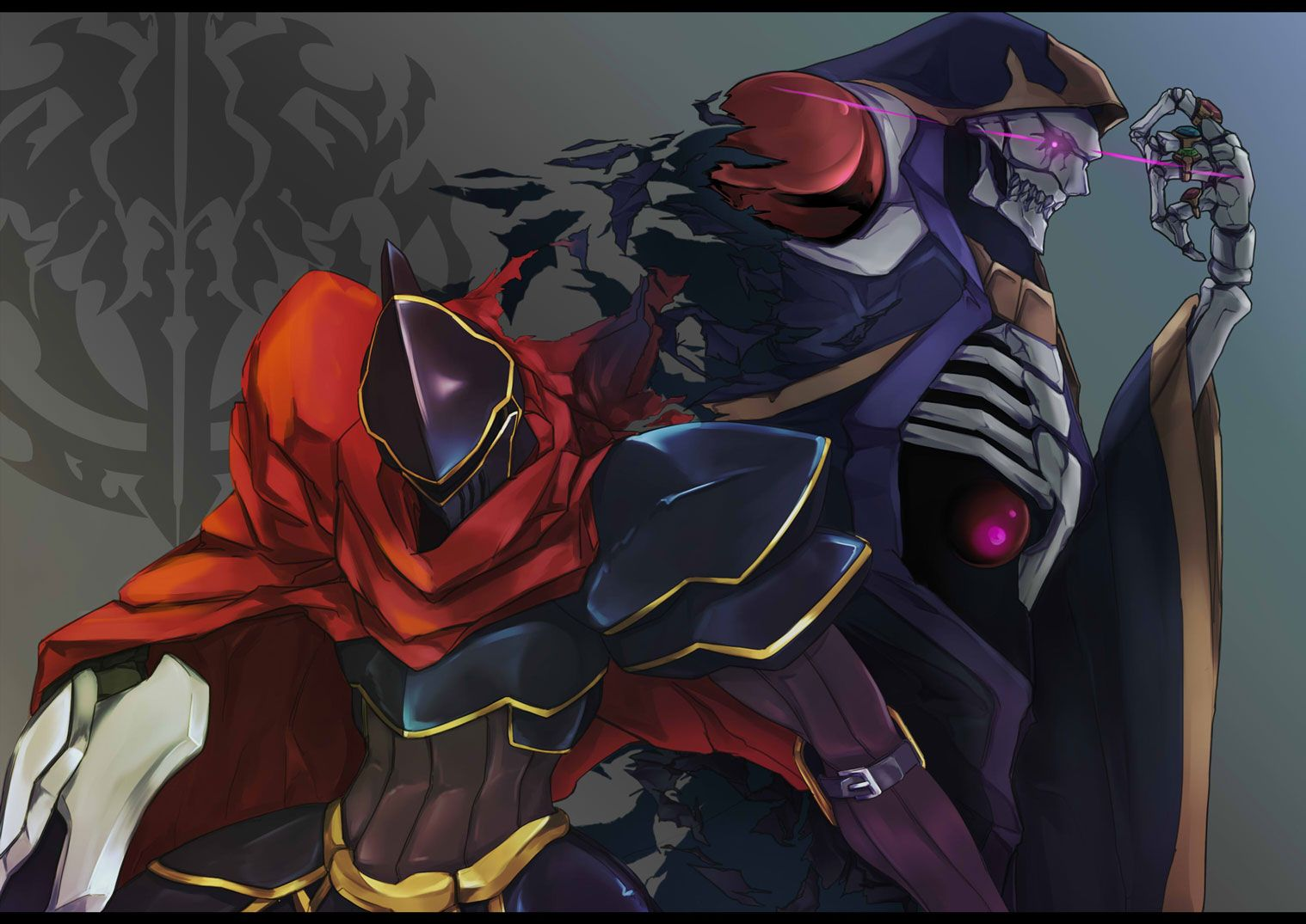 Anime Overlord Overlord Ainz Ooal Gown Wallpaper 1080p Overlord Wallpaper Hd 1545843 Hd Wallpaper Backgrounds Download