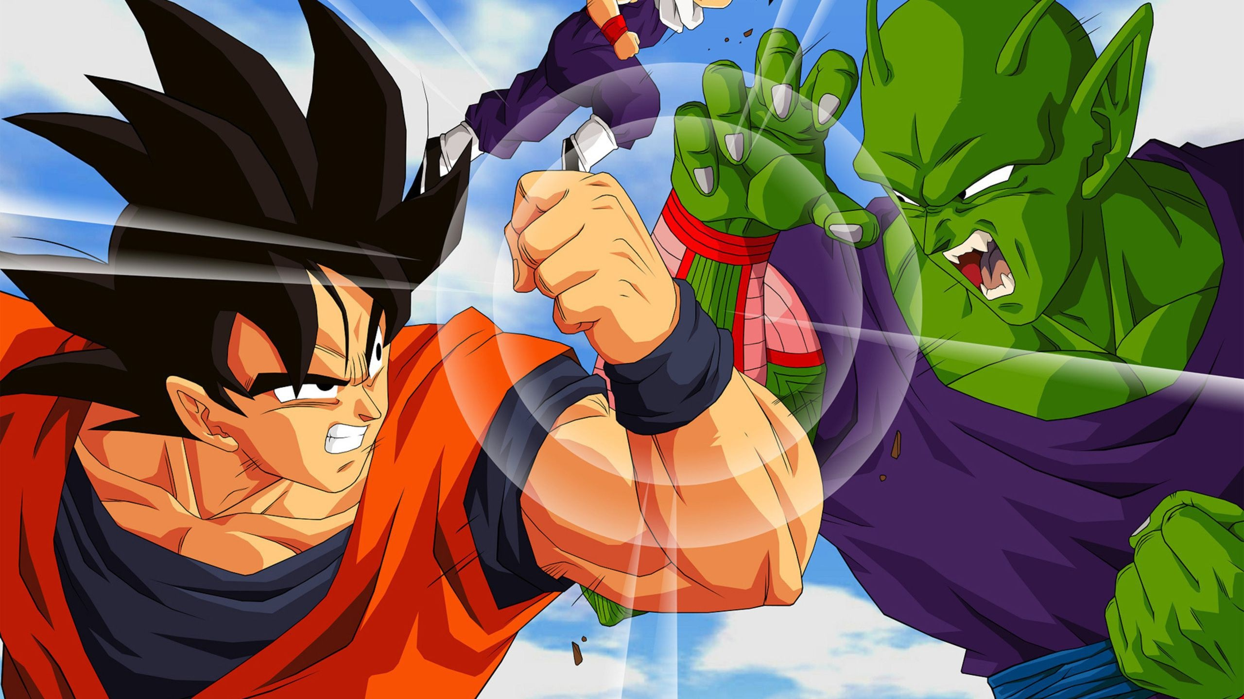 Dragon Ball Z Piccolo Vs Goku 1546127 Hd Wallpaper Backgrounds Download