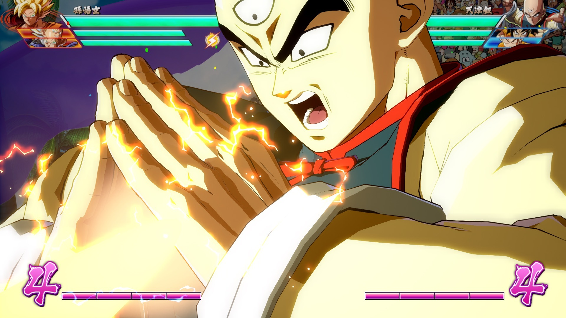 New Dragon Ball Fighterz Trailers Show Off Tien And Dragon