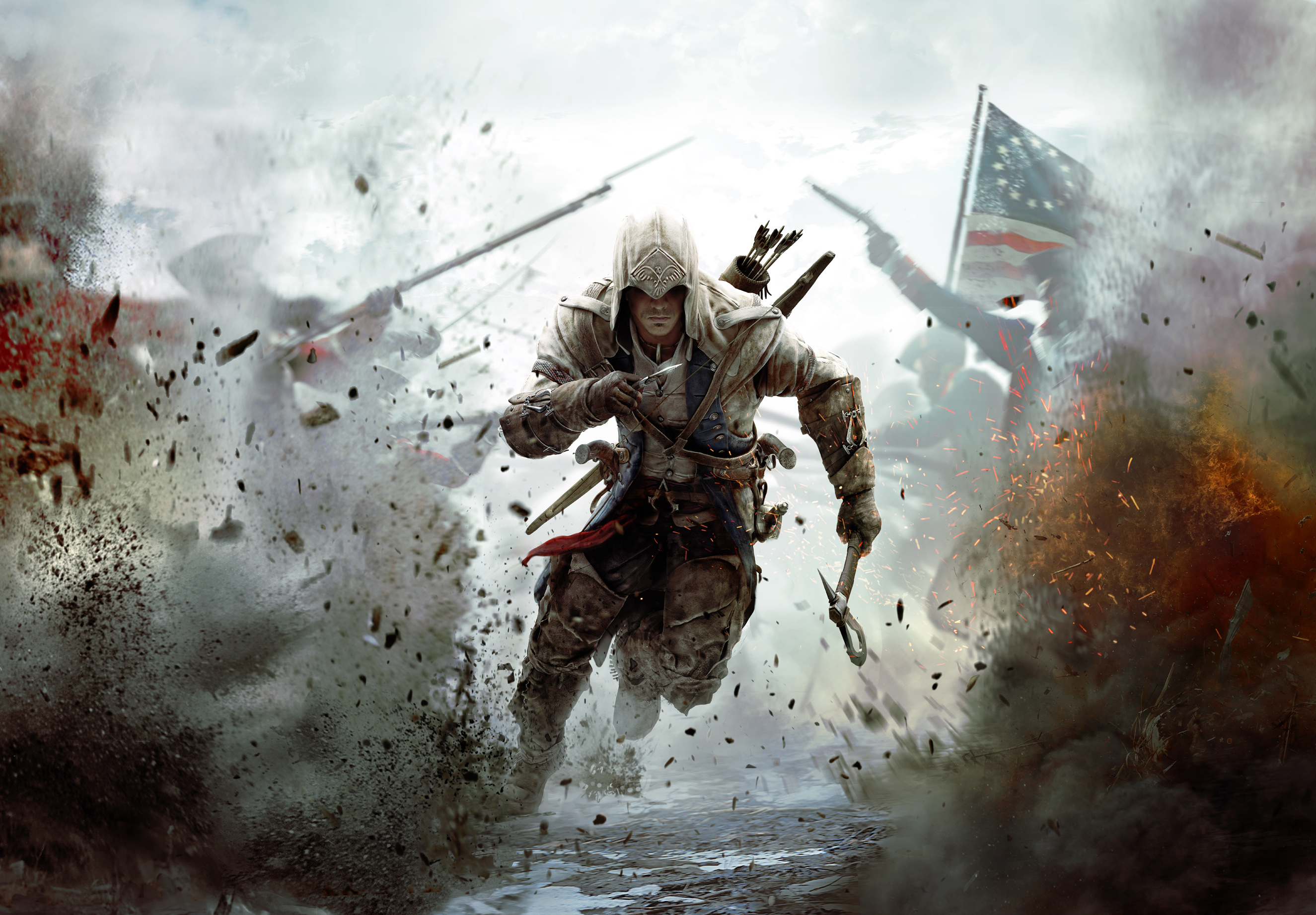 Assassins Creed Iii Connor Warrior Assassins Creed Iii