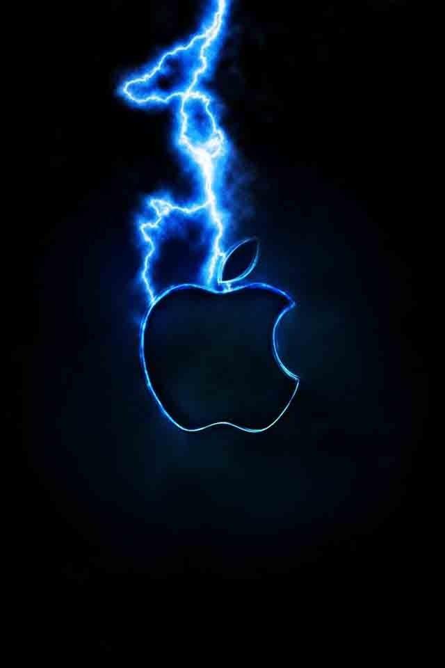 Lightning Strike My Pins Pinterest Ipod Wallpaper Apple - Best Wallpapers For Ipod , HD Wallpaper & Backgrounds