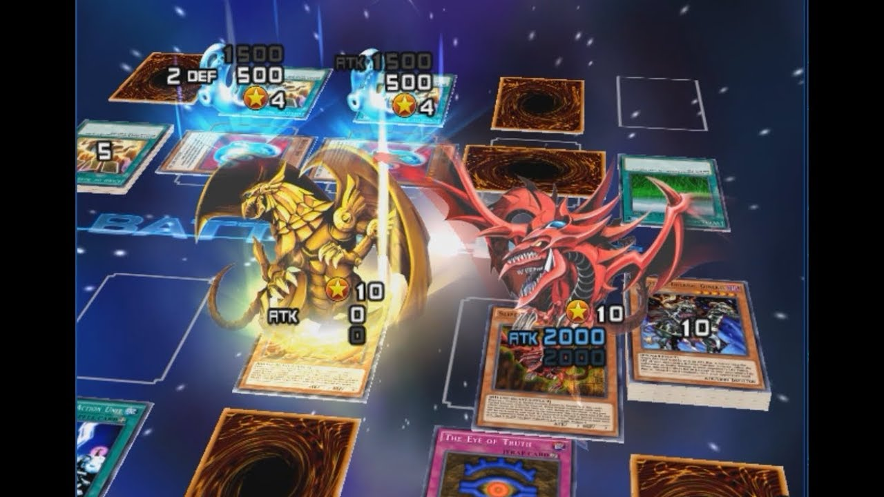 Yu Gi Oh Duel Links - Yu Gi Oh Duel Links Slifer , HD Wallpaper & Backgrounds
