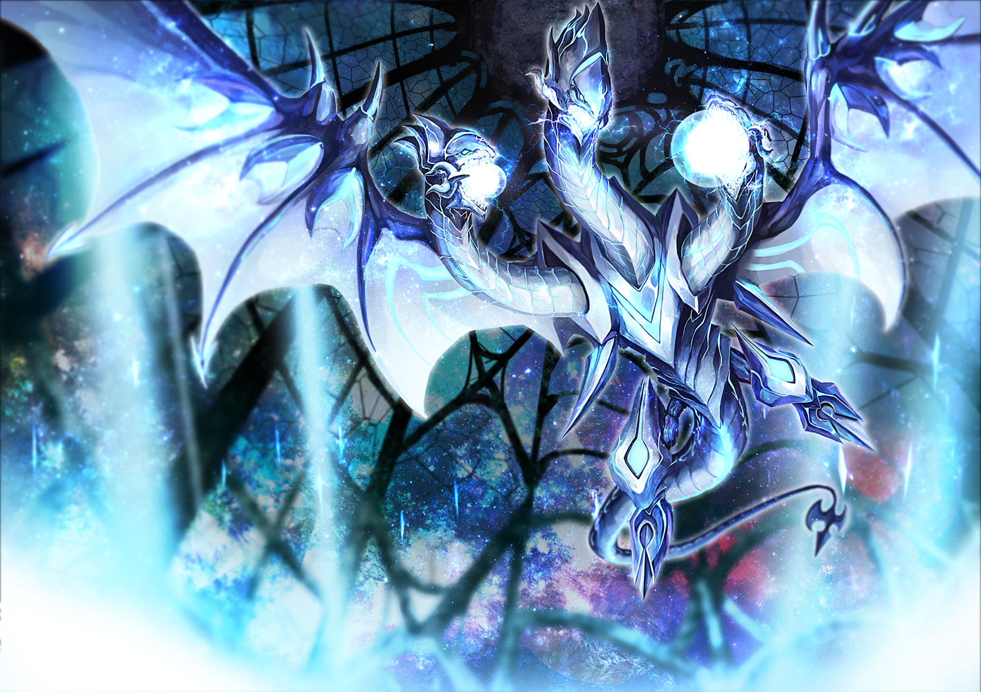 Download Neo Blue Eyes Ultimate Dragon Image 1547982 Hd