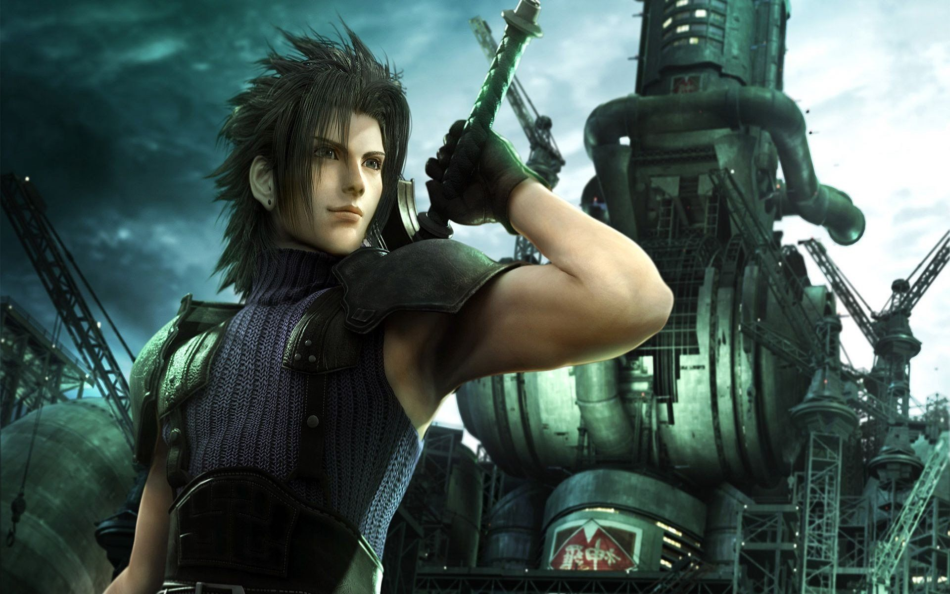 Final Fantasy Vii Wallpaper Final Fantasy Crisis Core Zack