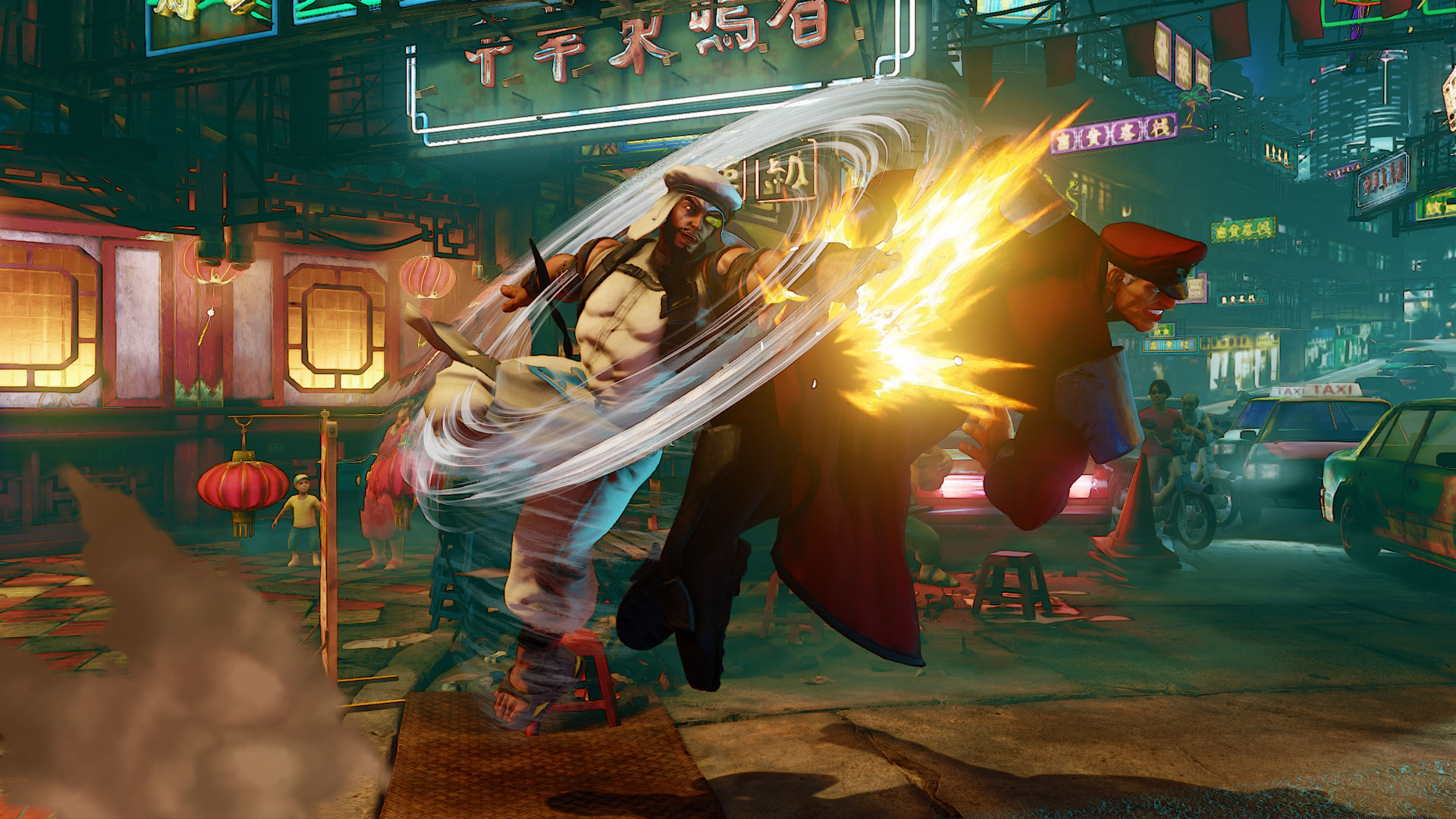 Street Fighter V Rashid Hd Wallpaper Rashid Street Fighter