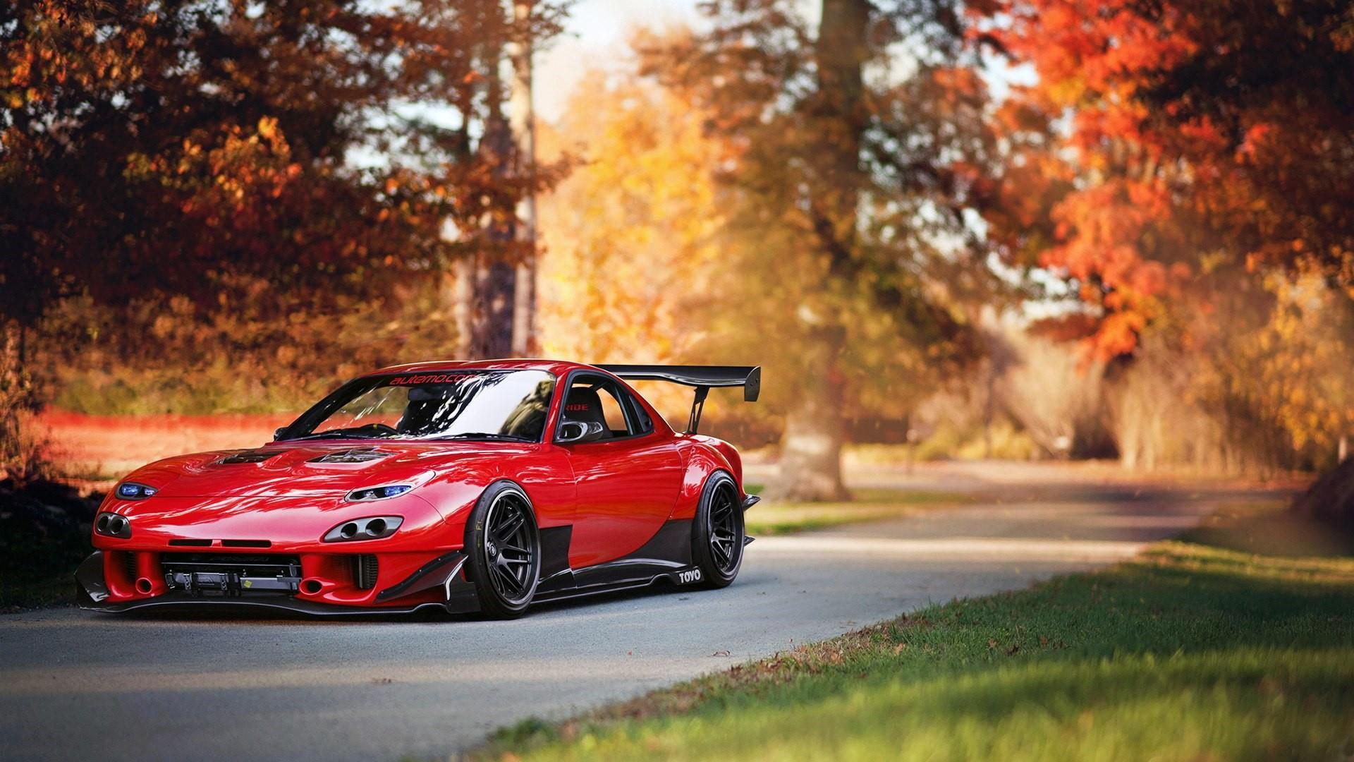 Car Mazda Rx 7 1554602 Hd Wallpaper Backgrounds Download