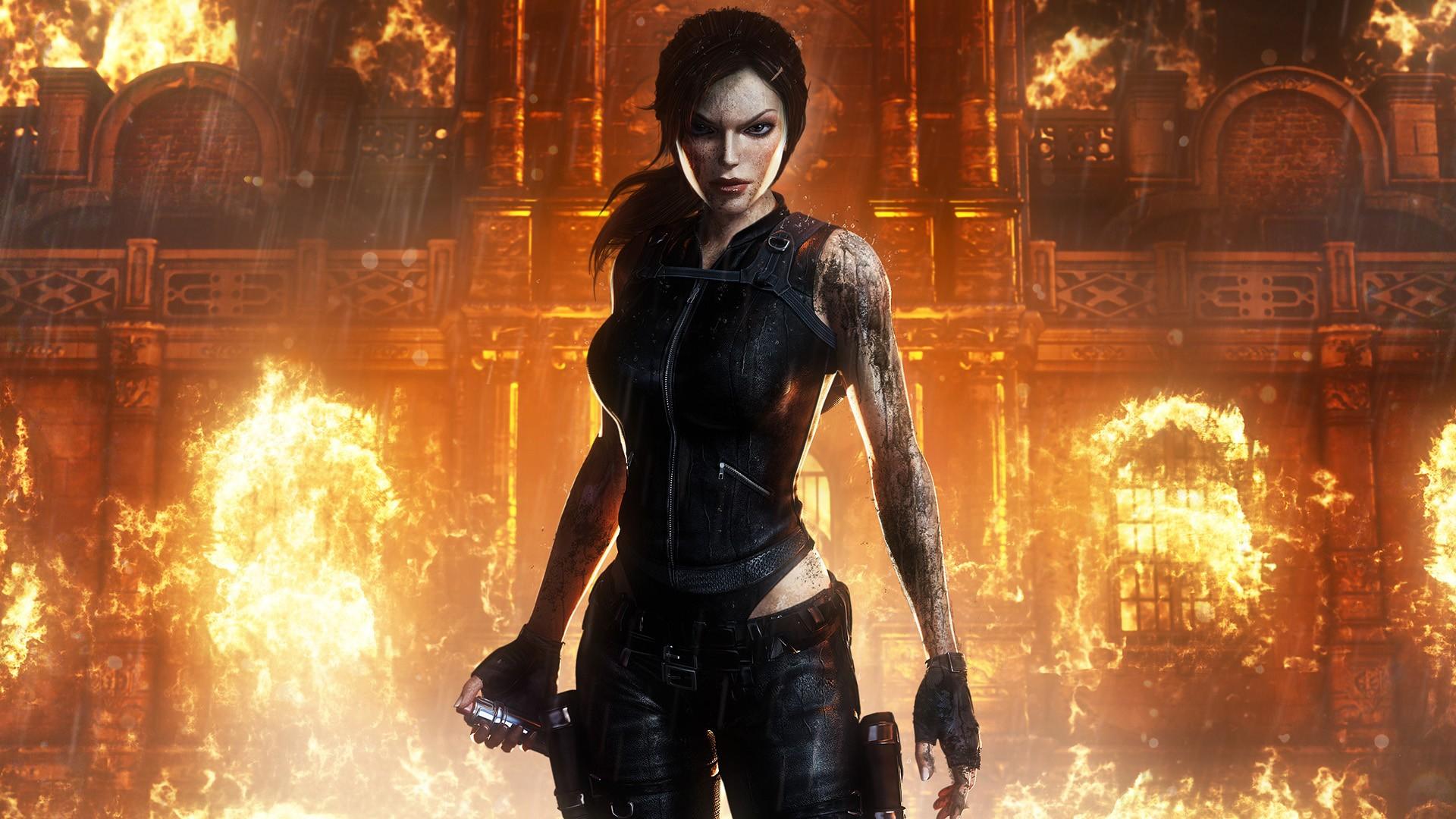 #lara Croft, #tomb Raider - Tomb Raider Ps4 Theme , HD Wallpaper & Backgrounds