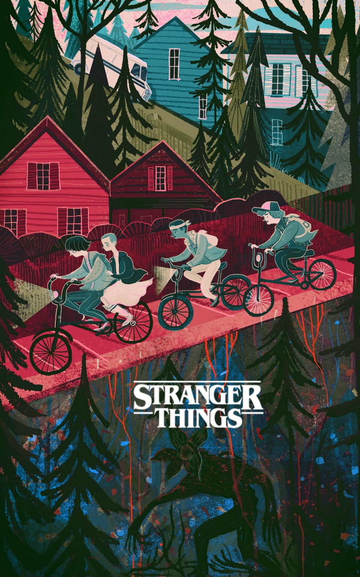 Stranger Things Wallpaper Stranger Things Wallpaper 4k