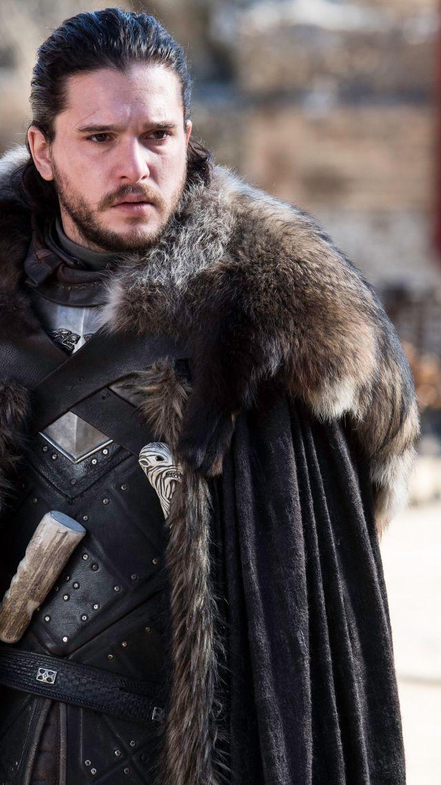 5k Game Of Thrones Season 7, Jon Snow, Kit Harington, - Jon Snow , HD Wallpaper & Backgrounds