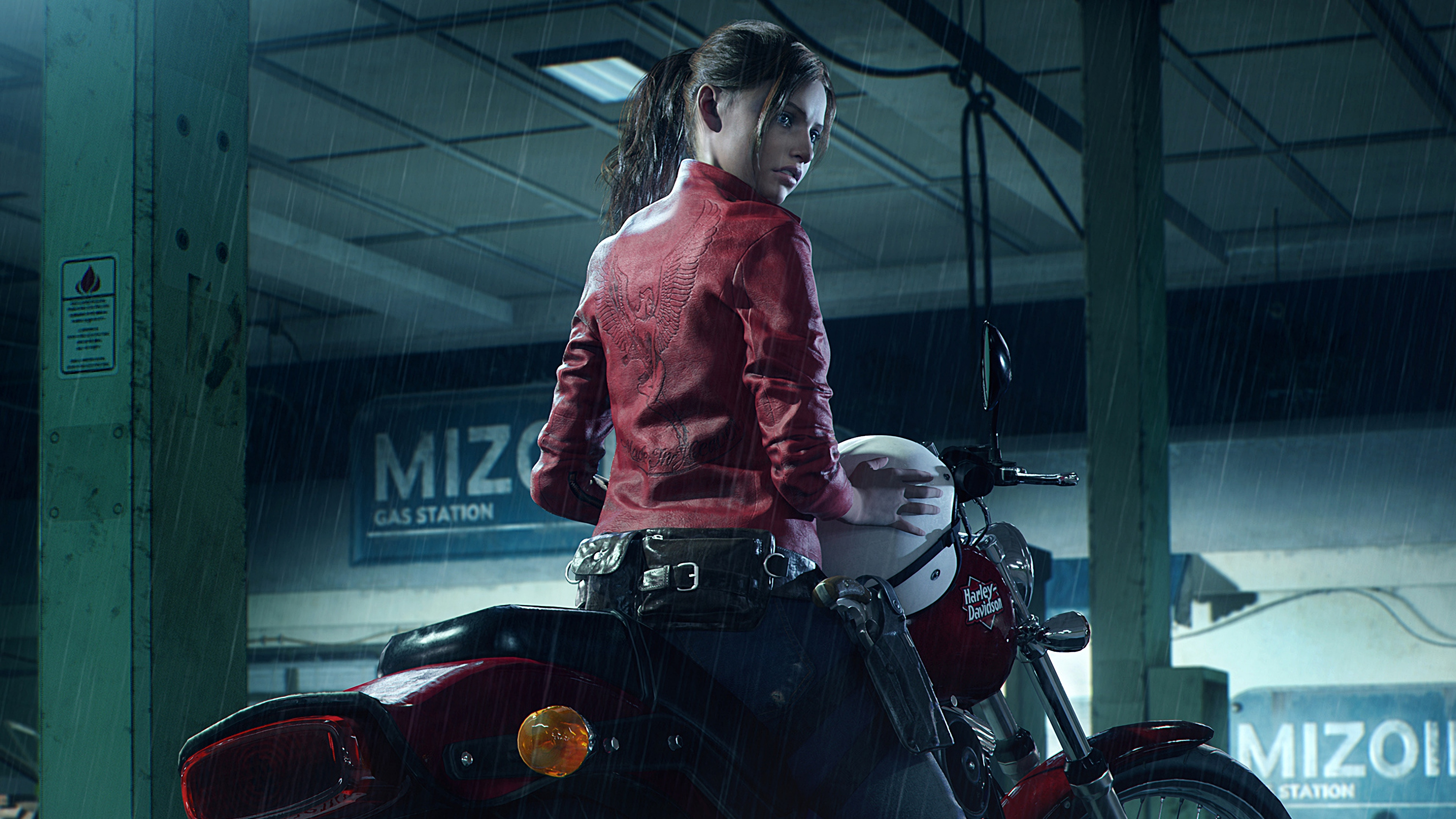 Resident Evil 2 2019 Claire Redfield Harley Davidson Resident