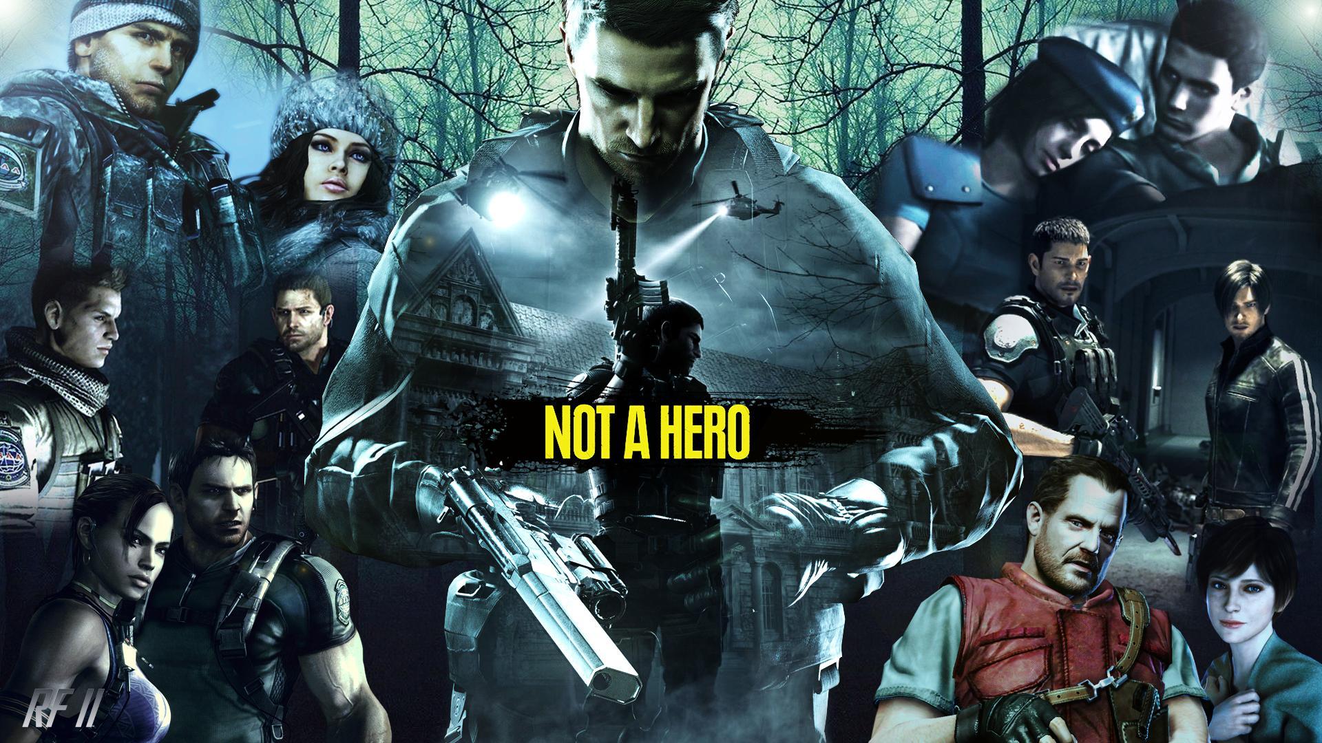 Chris Redfield Tribute Resident Evil 5 1563299 Hd