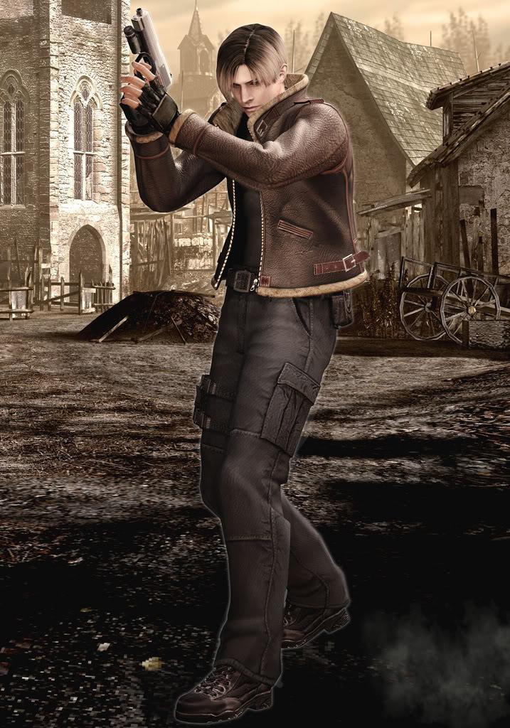 Resident Evil 4 Wallpapers - Resident Evil 4 Art , HD Wallpaper & Backgrounds